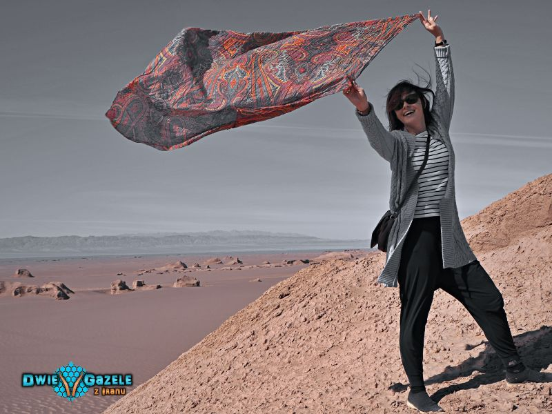 strój iran chusty hijab